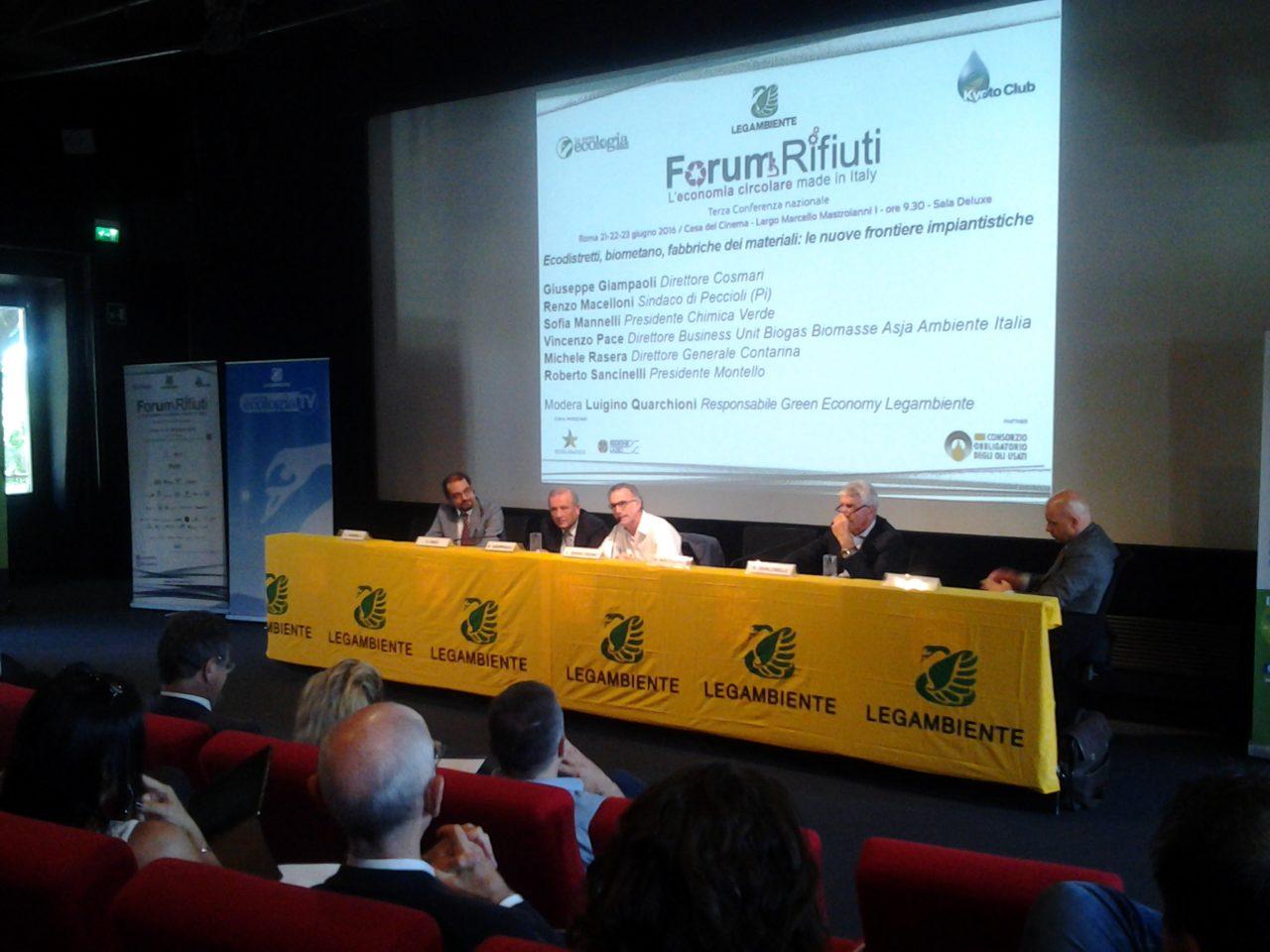 """Presentazione Progetto """"Fatti gli Avanzi Tuoi ...e Tieni il Resto"""" - Forum Nazionale Rifiuti - ROMA"""